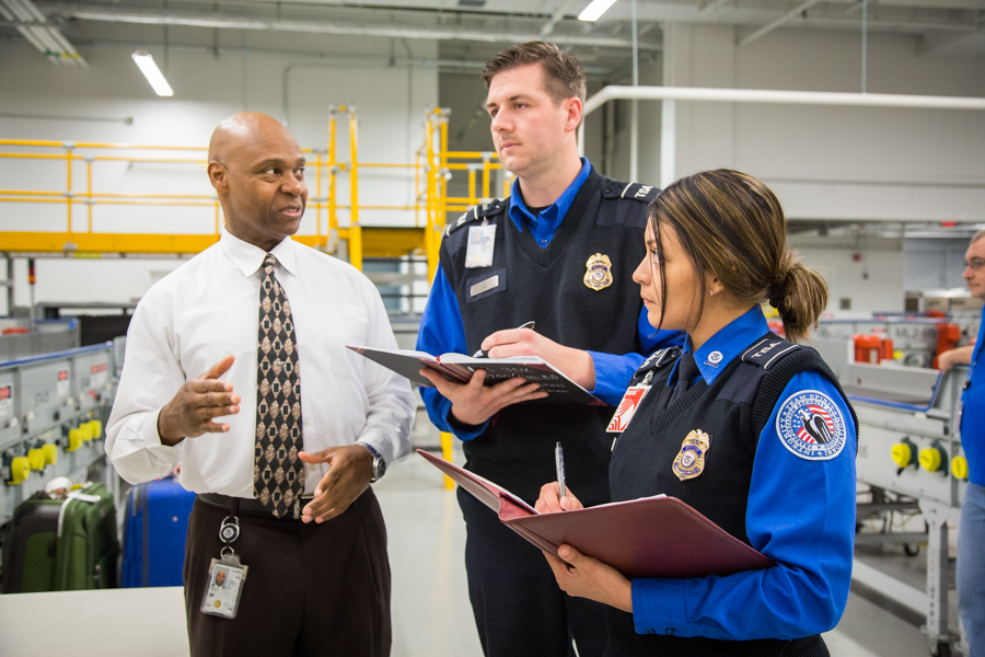 show captions - Transportation Security Officer