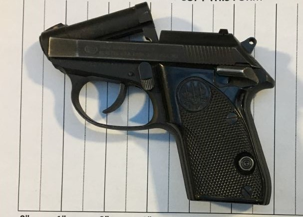 Handgun discovered by TSA