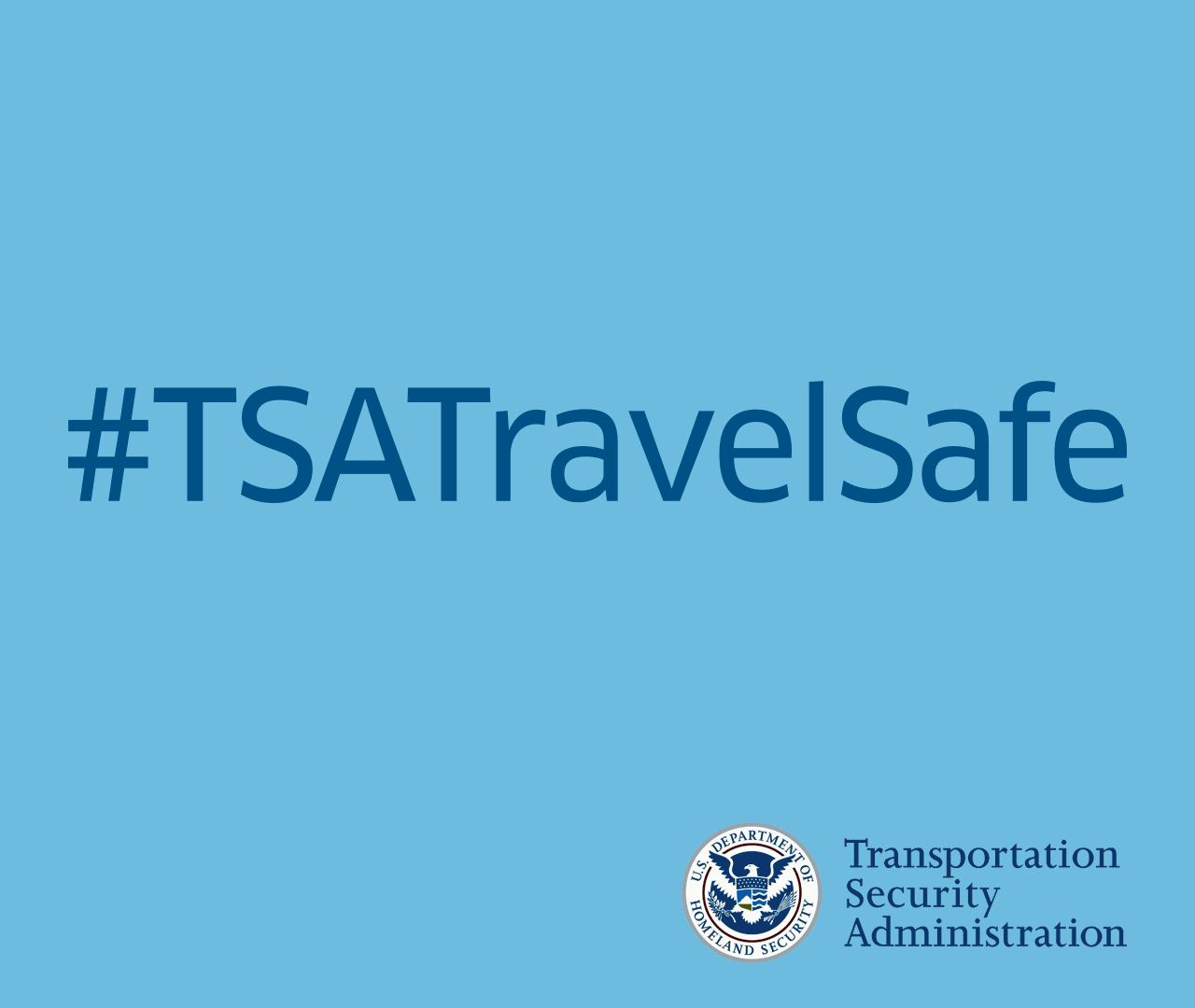 TSA Travel Safe Tips image