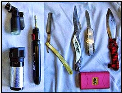All Discovered In One Passenger's Bag at ROA