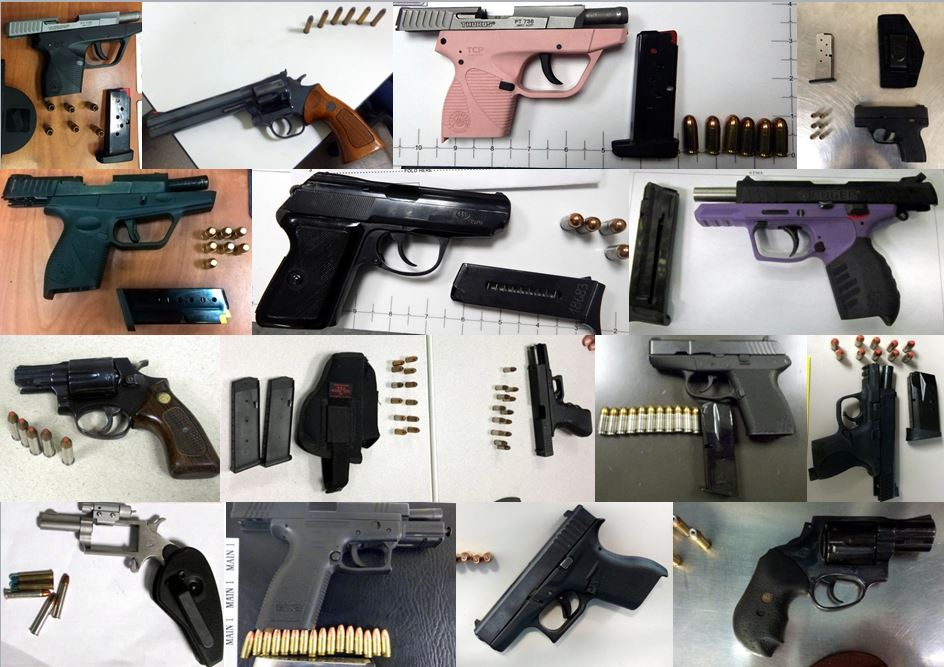 Discovered firearms image