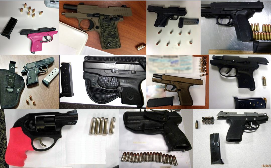 75 Firearms Discovered