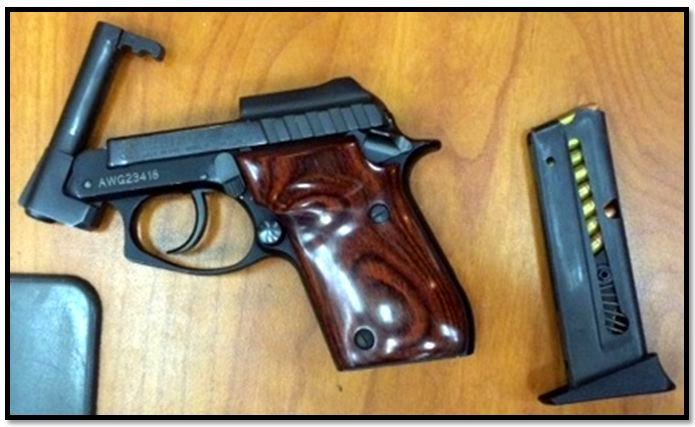 Loaded firearm discovered in carry-on bag at Atlanta (ATL).