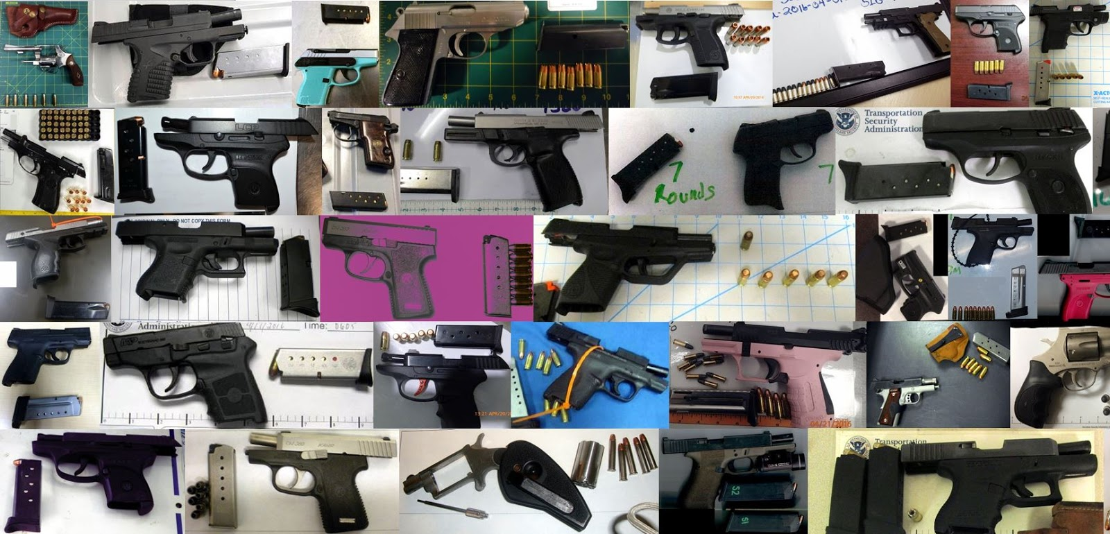 Discovered 73 firearms image