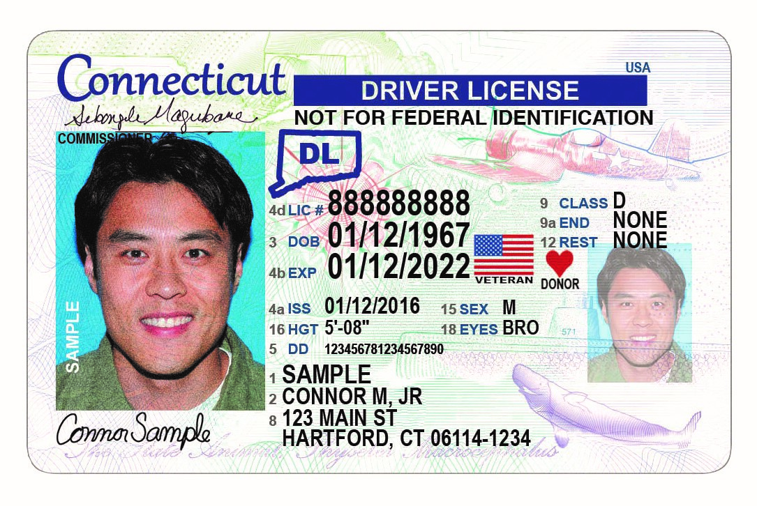 CT Driver's License no REAL ID