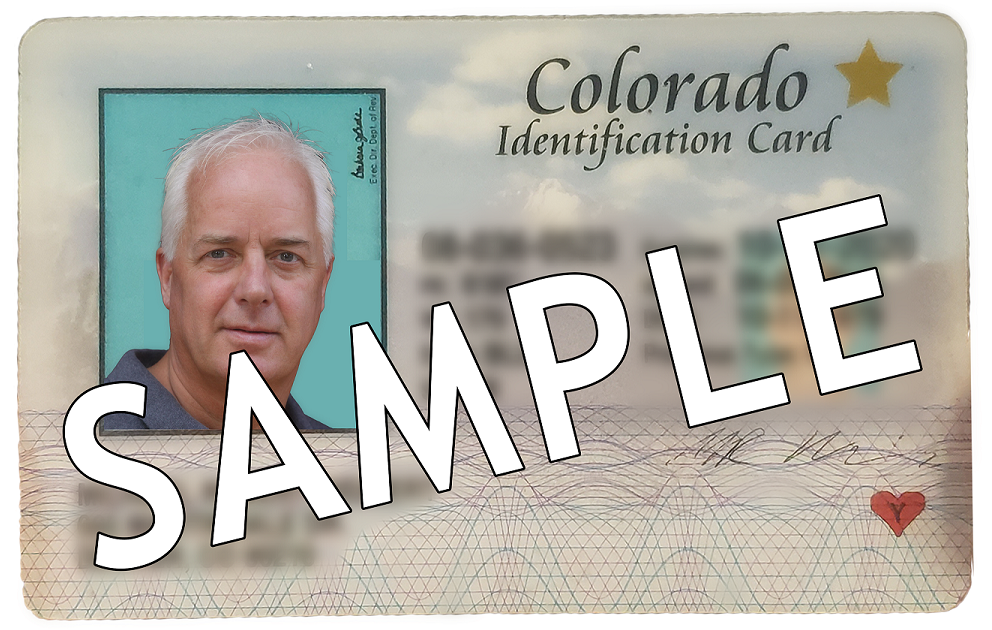 DEN REAL ID Sample 2