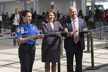 Newark Liberty International Airport's Ribbon Cutting
