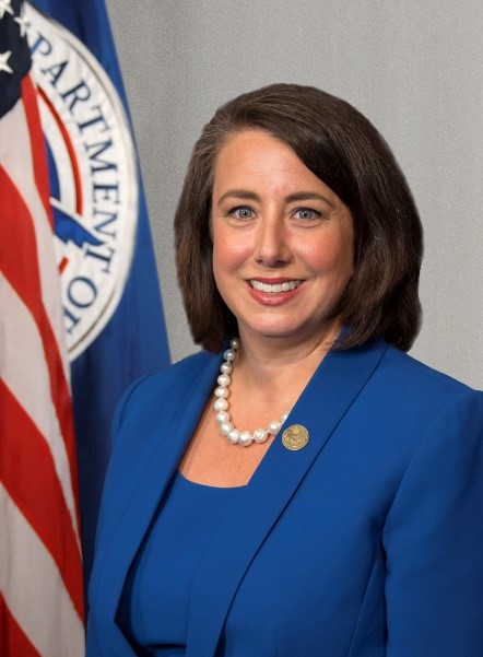 Official photo of Executive Assistant Administrator Stacey Fitzmaurice