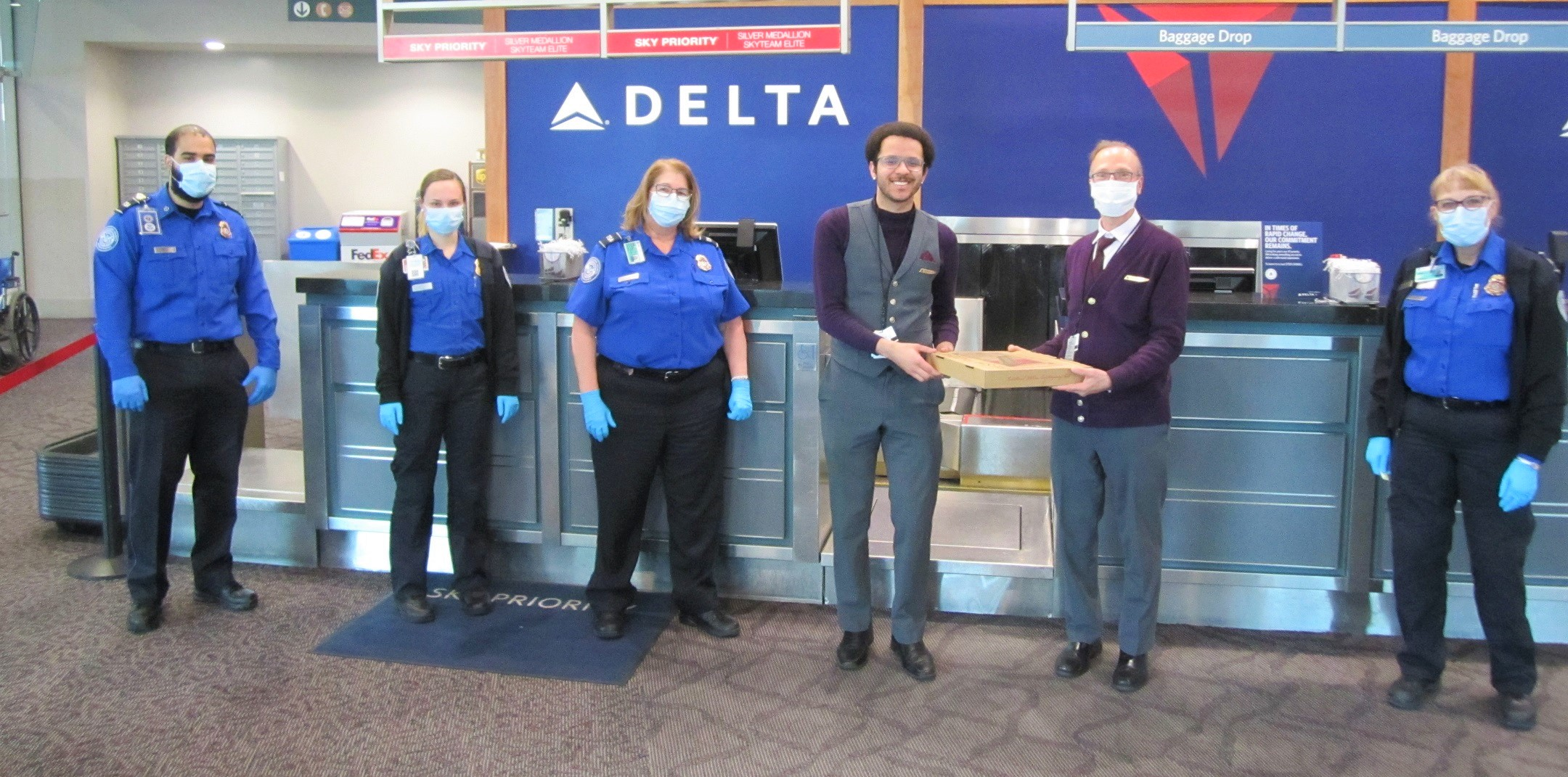 Deliveries to Delta
