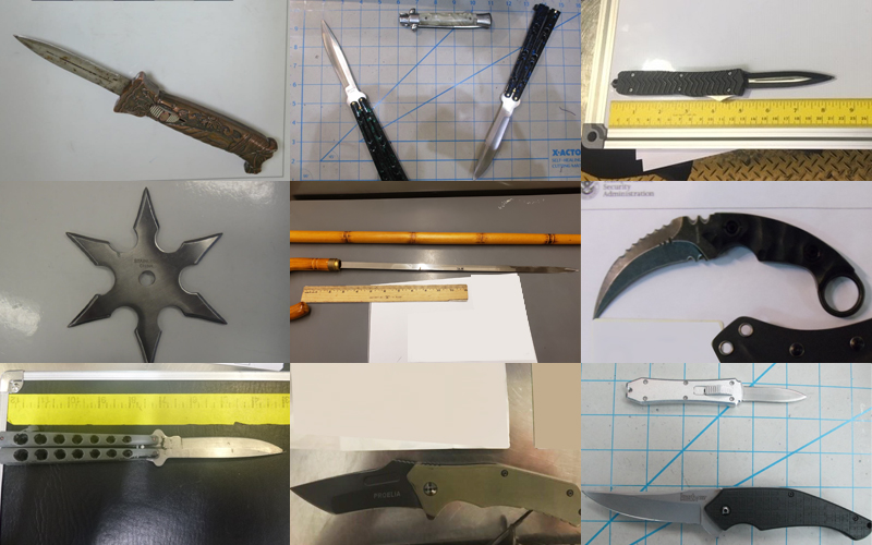 Knives Cover Section