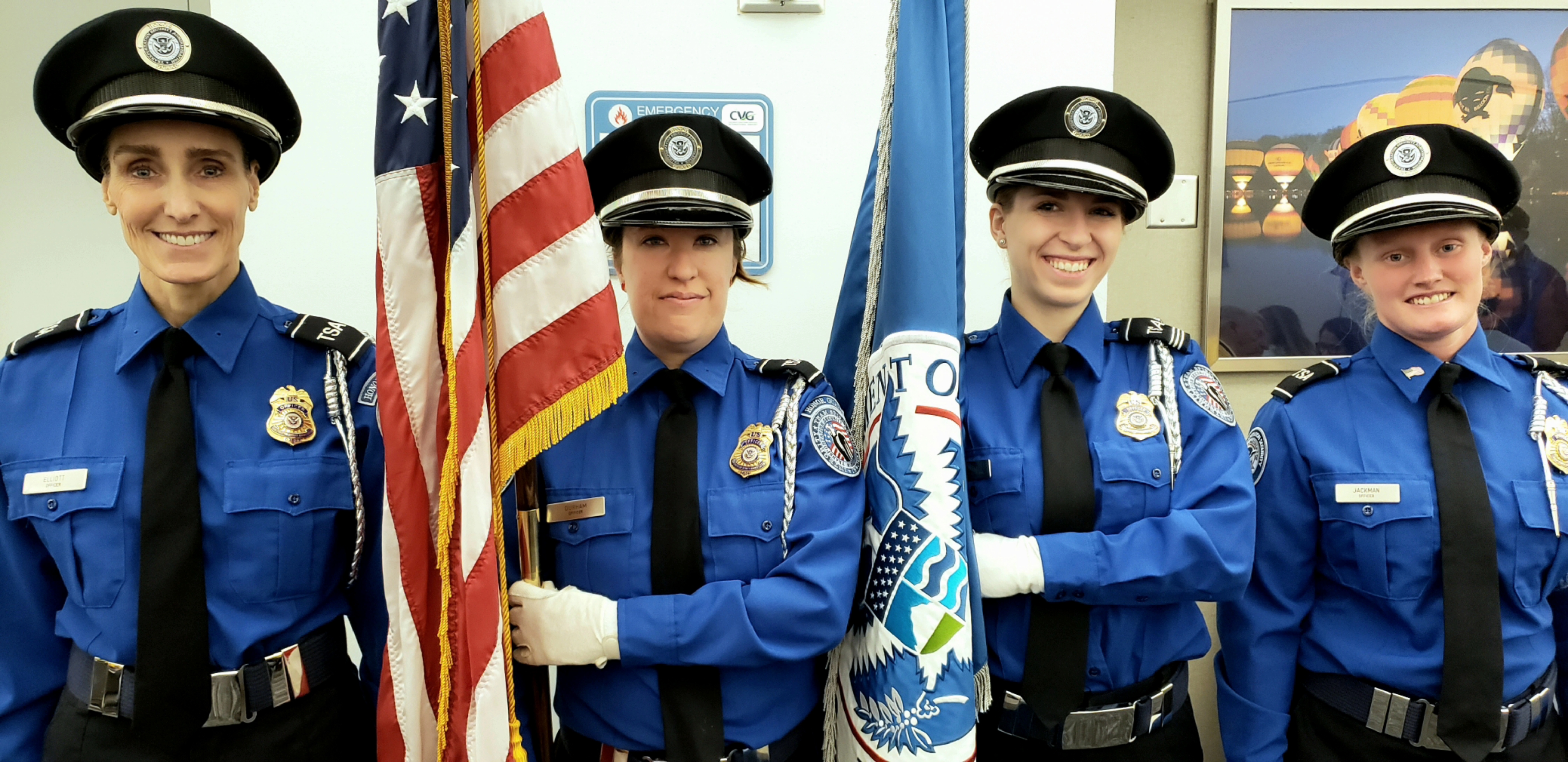 TSA Color Guard