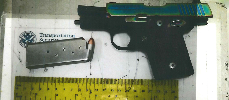 Loaded gun discovered by TSA at OKC