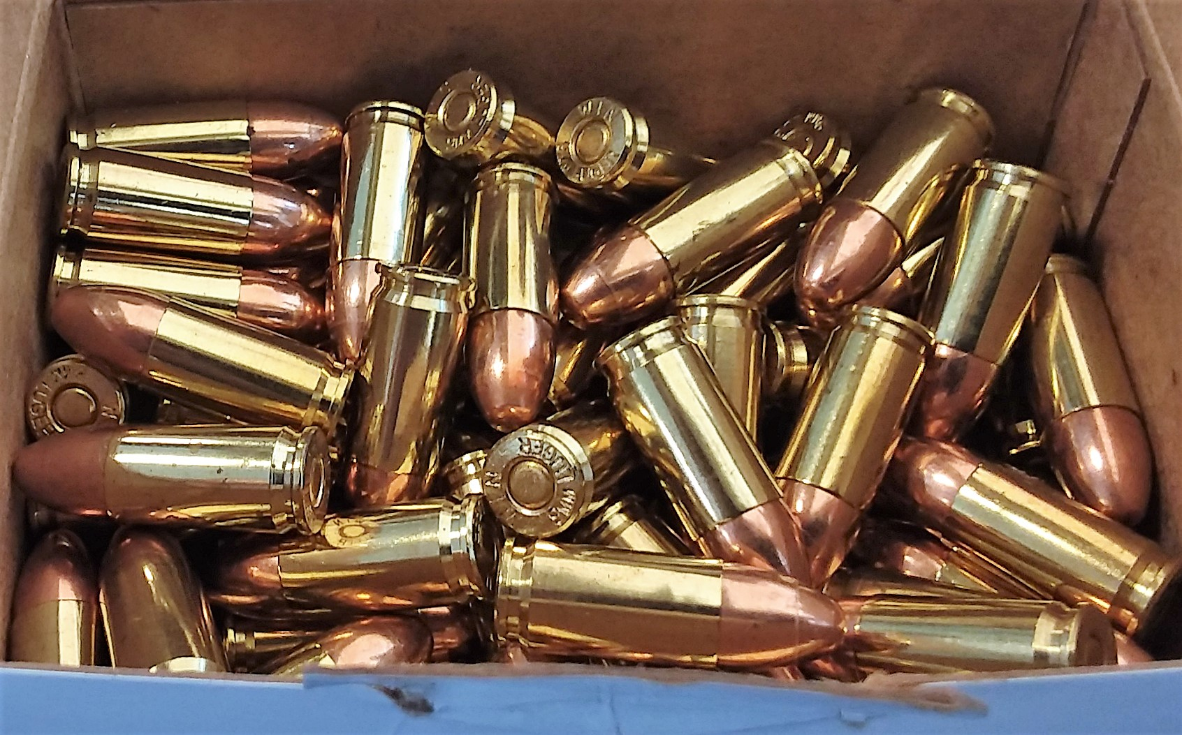 The ammunition pictured here was packed in a carry-on bag at the Roanoke Regional Airport (ROA).