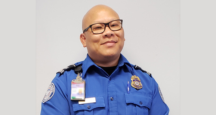 TSA Officer Martino