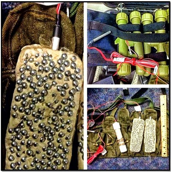 An improvised explosives device (IED) training kit was discovered in a checked bag at Honolulu (HNL).