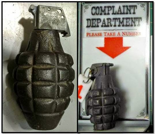 Inert grenades discovered in carry-on bags at LAX & LAS