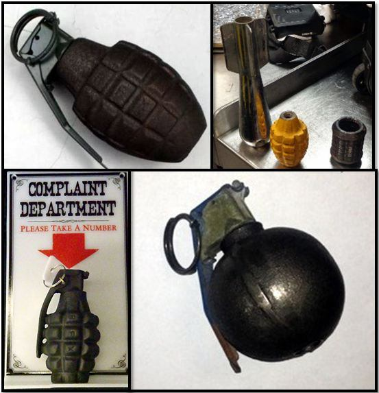 TSA Week in Review: 45 Firearms, Inert Grenades and More