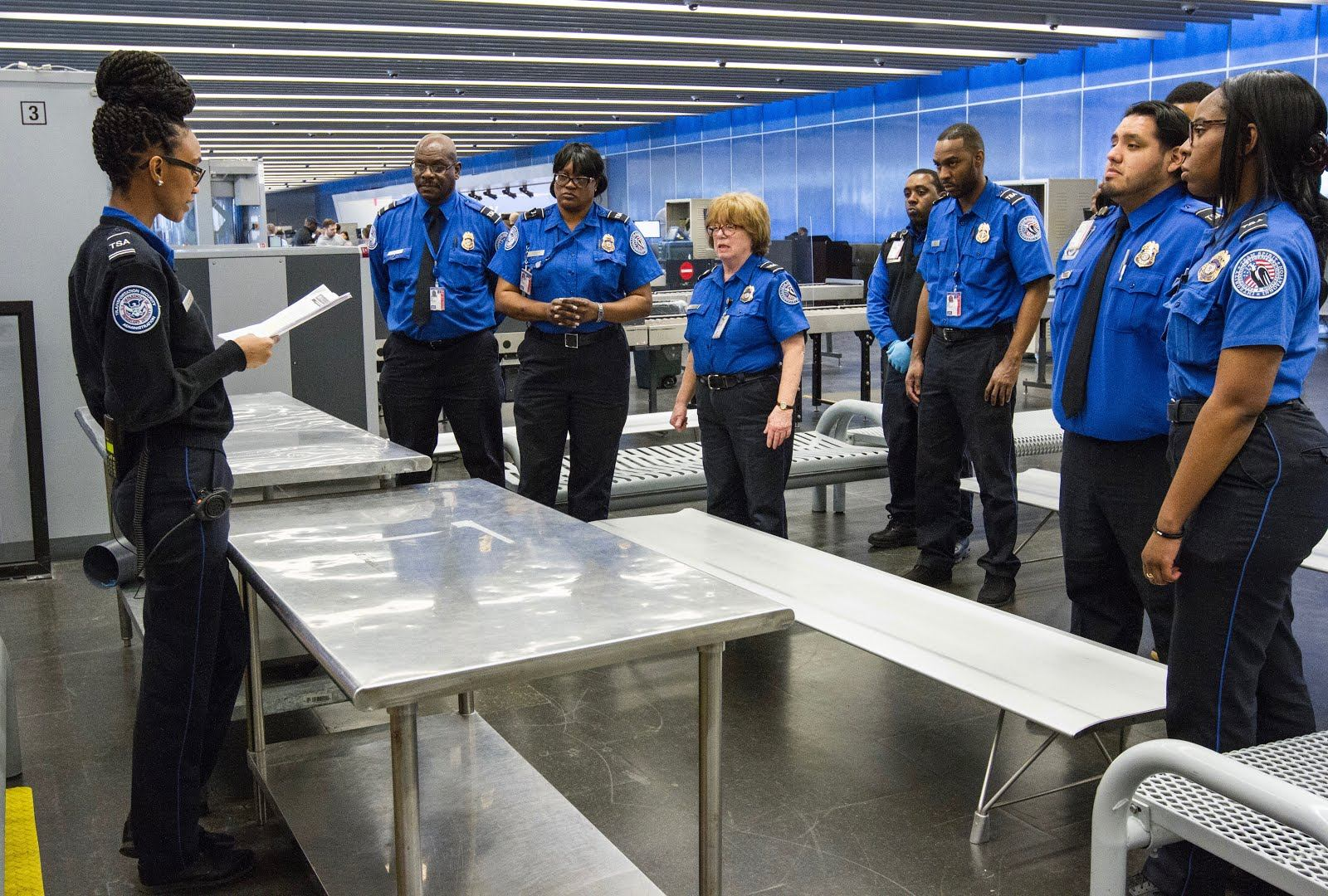 training at jfk - Transportation Security Officer