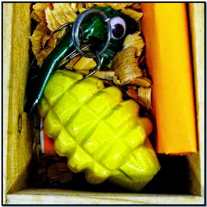 Inert Grenade Fishing Lure (ANC)