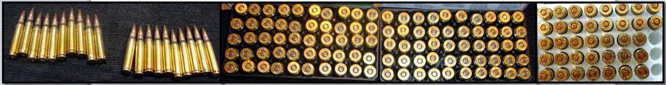 Ammunition discovered in carry-on bags at IAH & MEM