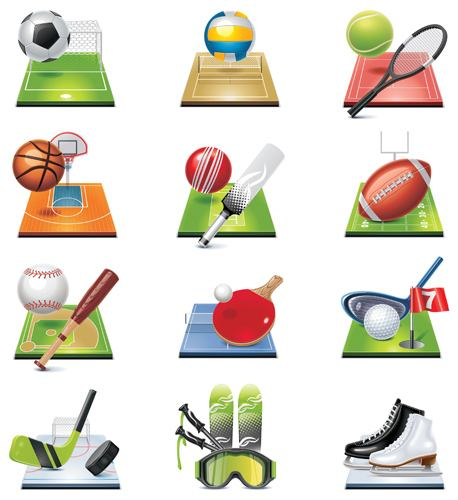 Sporting Goods Icons