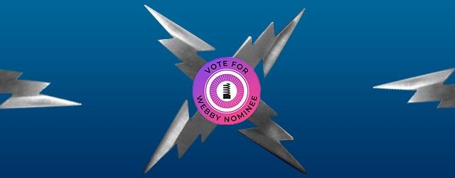 Webby Logo on Star
