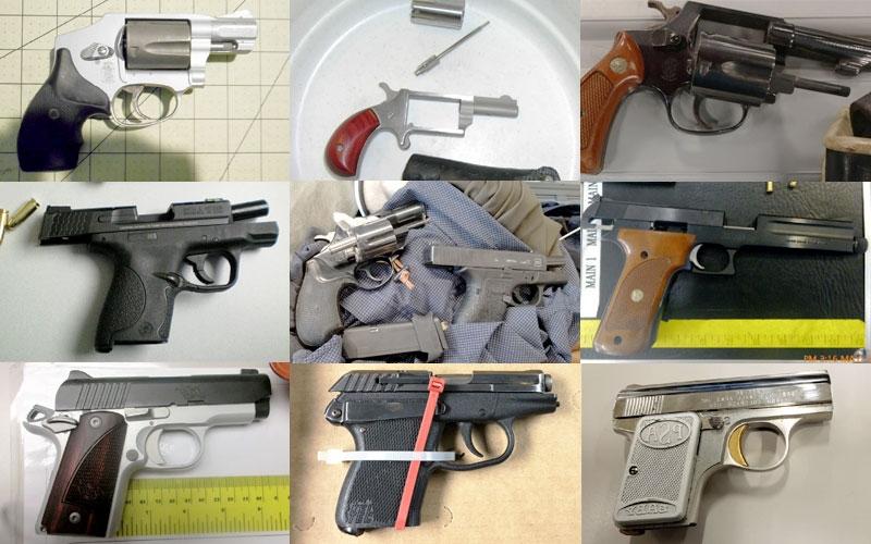 Prohibited Items - Guns