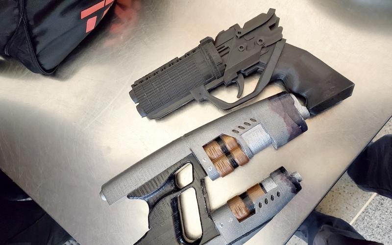 3d printed firearms