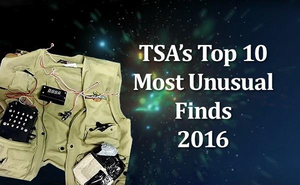 TSA's Top 10 Most Unusual Finds: 2016
