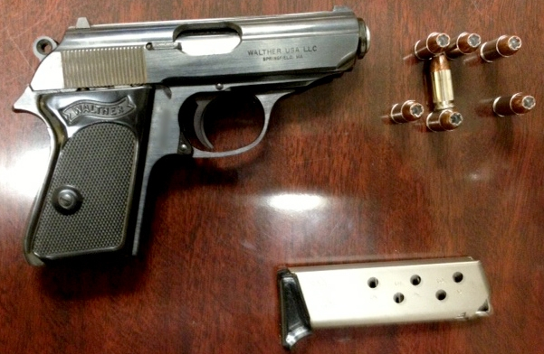 Loaded Firearm Discovered at AGS