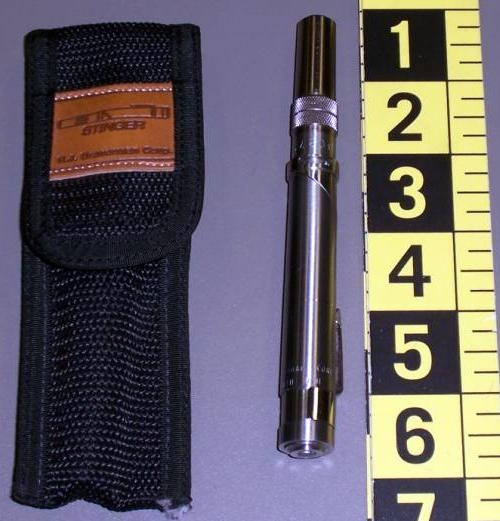 A pen pistol discovered at Allentown (ABE).
