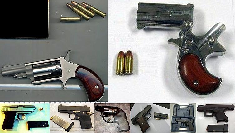 Guns Discovered at (L-R) ABQ, MDW, MAF, SAT, CMH, GSO, PNS, ATL