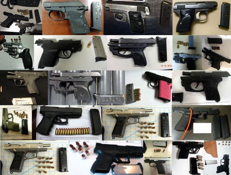Discovered 52 firearms image