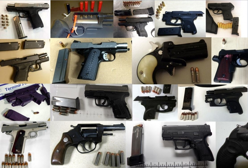 Discovered 67 firearms image