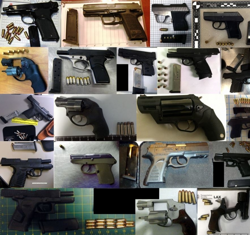 Discovered 62 firearms