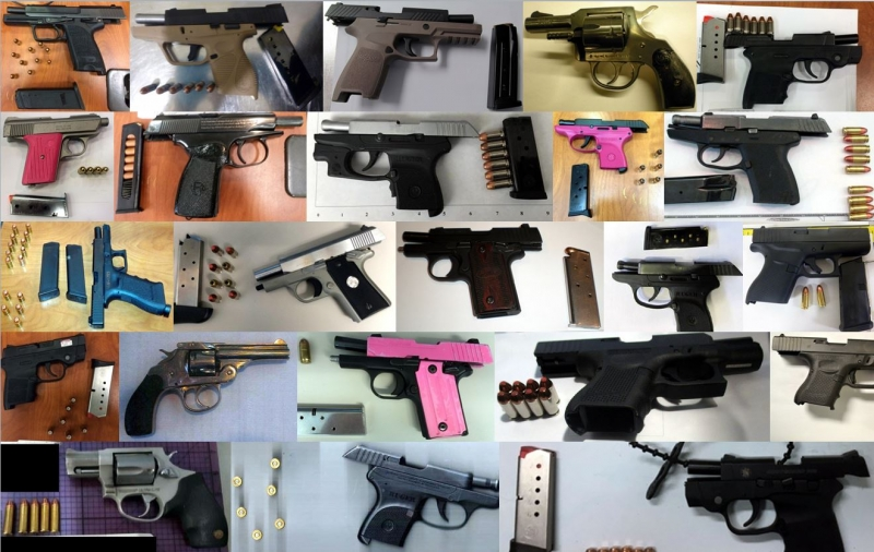 Discovered 63 firearms image
