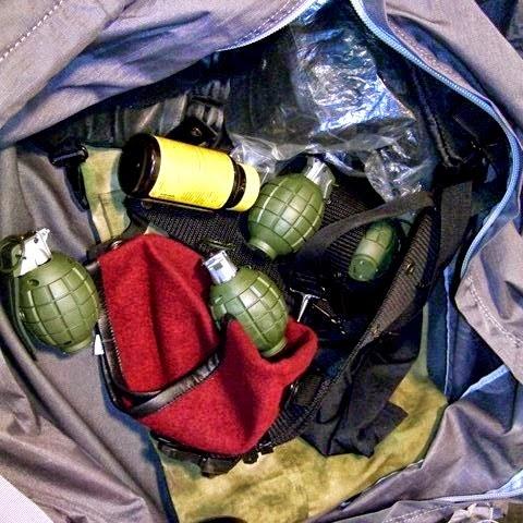 Replica grenades