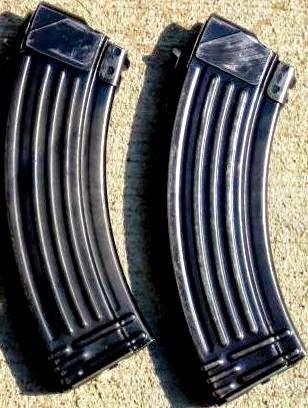 Empty AK-47 Magazines
