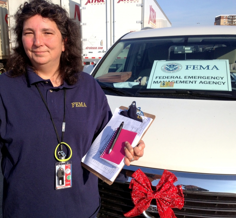 TSA Washington/Reagan Supervisor Lisa Caillet in Far Rockaway, NY