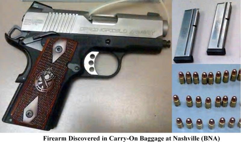Loaded firearm. (BNA)