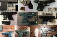 TSA discovered 68 firearms over the last week in carry-on bags around the nation. Of the 68 firearms discovered, 60 were loaded and 27 had a round chambered.