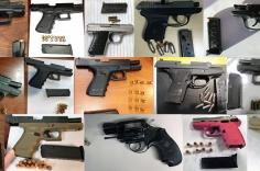 TSA discovered 84 firearms in carry-on bags around the nation last week. Of the 84 firearms discovered, 75 were loaded and 29 had a round chambered.