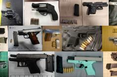 TSA discovered 71 firearms in carry-on bags around the nation last week. Of the 71 firearms discovered, 66 were loaded and 29 had a round chambered.
