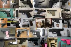 TSA discovered 101 firearms in carry-on bags around the nation last week. Of the 101 firearms discovered, 85 were loaded and 28 had a round chambered.