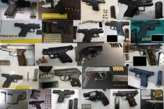 TSA discovered 174 firearms in carry-on bags around the nation from July 23rd through August 5th. Of the 174 firearms discovered, 149 were loaded and 49 had a round chambered.