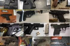 TSA discovered 77 firearms over the last week in carry-on bags around the nation. Of the 77 firearms discovered, 72 were loaded and 23 had a round chambered.