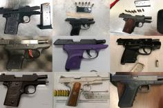 Firearms discovered by TSA from February 25 to March 3