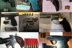 TSA discovered 85 firearms over the last week in carry-on bags around the nation. Of the 85 firearms discovered, 77 were loaded and 25 had a round chambered.