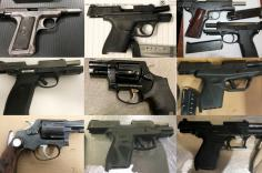 Guns discovered at TSA checkpoints