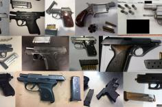 TSA discovered 86 firearms over the last week in carry-on bags around the nation. Of the 86 firearms discovered, 73 were loaded and 24 had a round chambered.